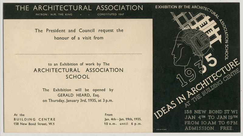 AA School of Architecture 2015 - Scrapbooks 1847-1947