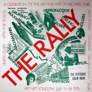 1976, Art Net Rally poster.