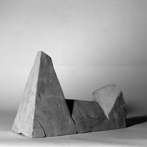 Clay Model - The Monolithic Mass of The Palace