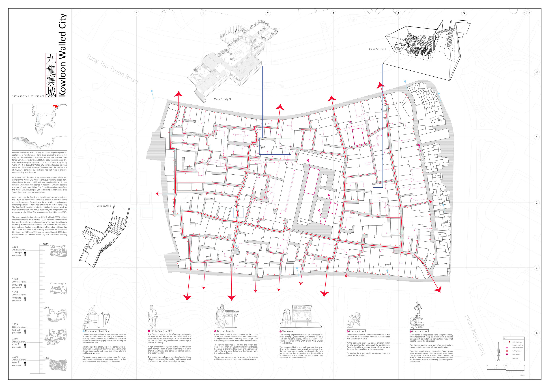AA of Architecture 2015 - Nicolas Chung Kowloon Walled City Map on berlin wall map, ma on shan map, lantau island map, kowloon park map, walled city nuremberg map, kowloon station map, melbourne map, aberdeen harbour map, kai tak airport map, fujian map, macau map, city park map, utopia map, shanghai map, zhejiang map, lan kwai fong map, hong kong map, guangdong province map, ningbo map, falklands war map,